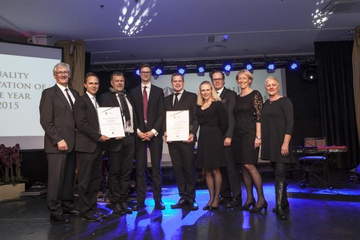 Dubbel vinst för svenska innovationer