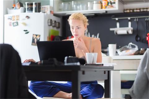 Sju sätt att bli motiverad när du jobbar hemifrån