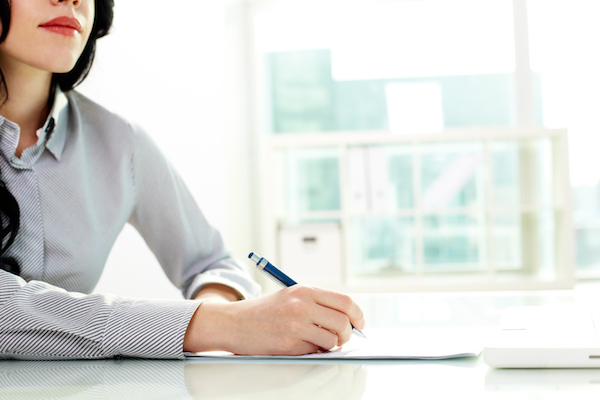 Protokollskrivande hämmar kvinnors karriär
