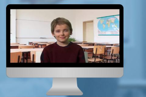 Avatar hjälper i utbildning om samtal med barn
