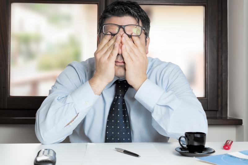 Sömnbrist leder till sämre prestationsförmåga