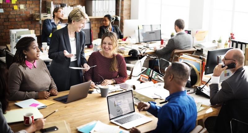 4 tips för att skapa en hälsosam arbetsplats