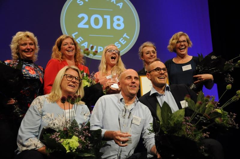 Två vinnare av Svenska Leanpriset