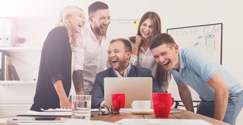 Skapa en roligare arbetsplats