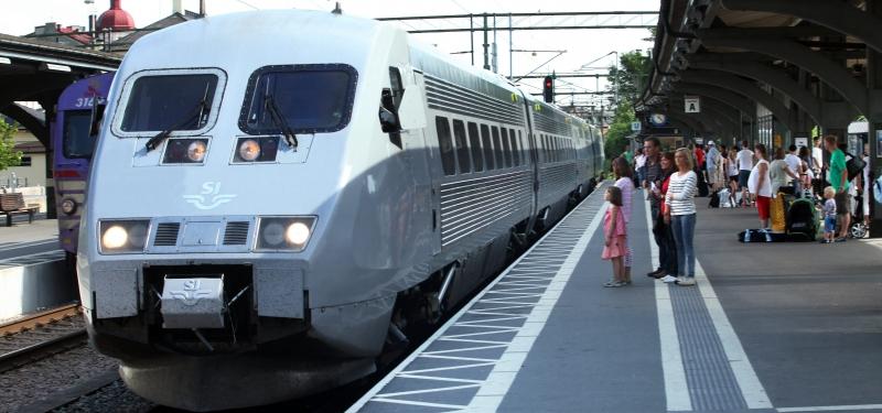 Försämrad punktlighet i tågtrafiken