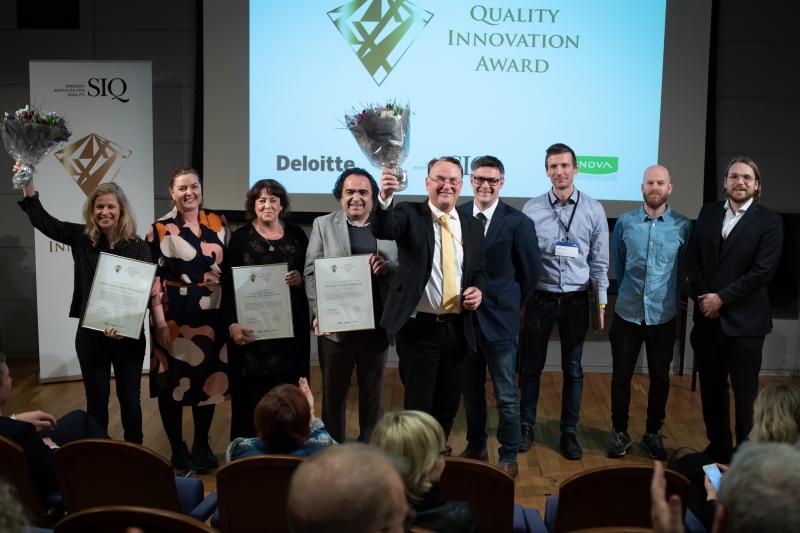Fyra svenska innovationer fick ta emot utmärkelser