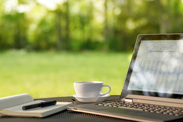 Stora fördelar med kontorsarbete utomhus