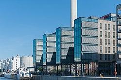 Hammarby sjöstad, här huserar Internetstiftelsen i aktivitetsbaserade lokaler.