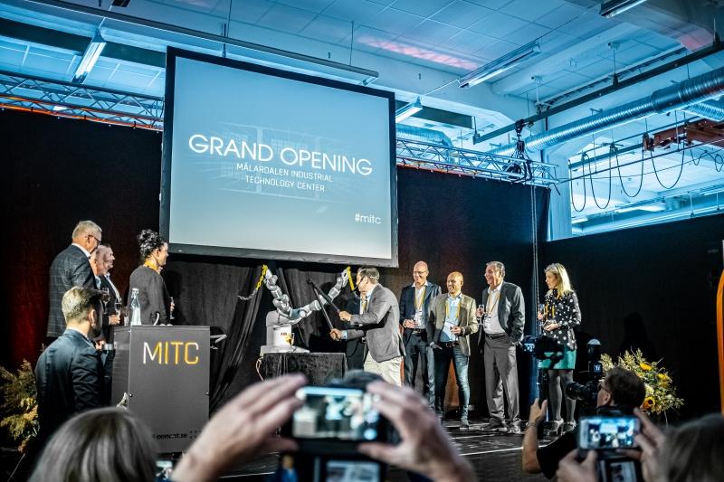 Framtidens smarta industri i fokus på nytt teknikcenter