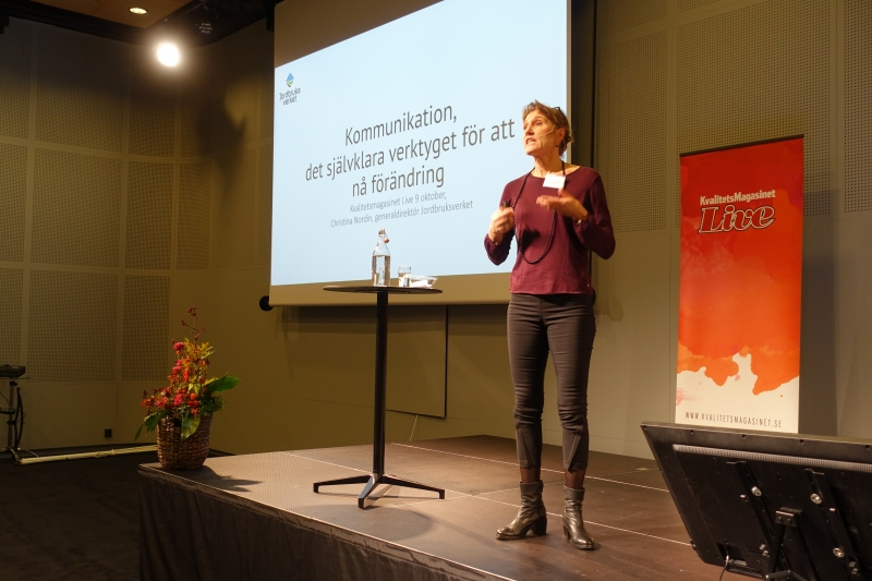 Christina Nordin, GD Jordbruksverket.