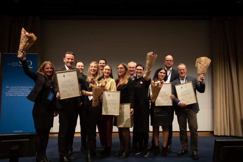 Fem innovationer tog emot Quality Innovation Award