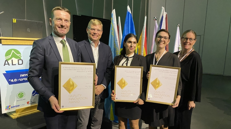 Storslam för Sverige i internationell innovationstävling