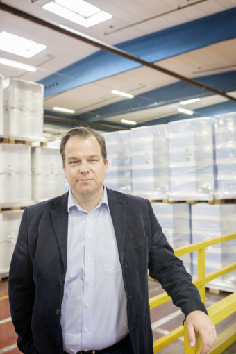 Andreas Malmberg, koncernchef Trioplast.