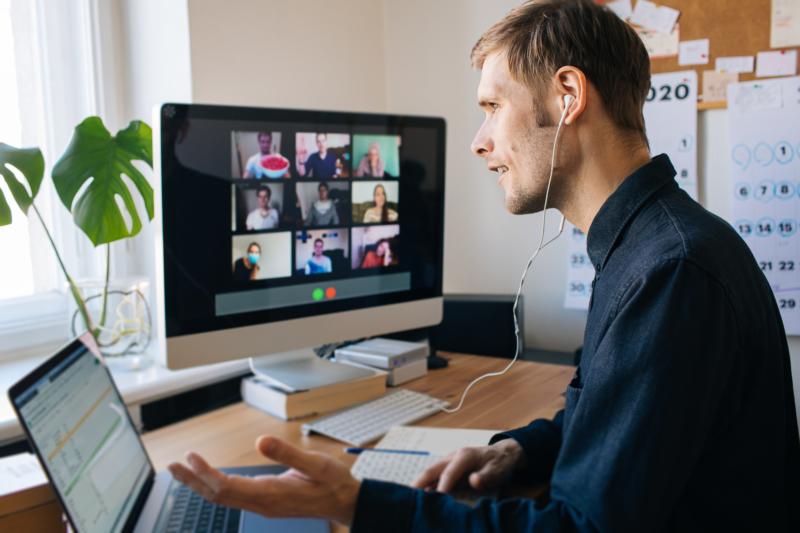 Distansarbete påverkar inte engagemanget för jobbet