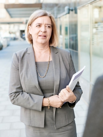 Helena Lindberg, riksrevisor.