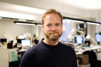 Lukas Berg, vd Insight Intelligence.