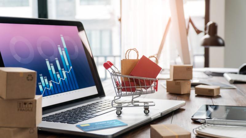 Rekordlyft för e-handeln under pandemin