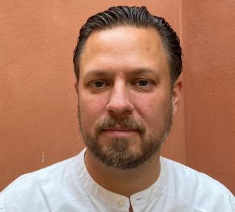 David Eklind Kloo, projektledare och rapportförfattare.