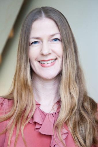 Julia Norinder har skrivit boken Värderingsbaserat ledarskap. Foto Carola Björk