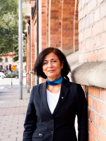 Maria Khorsands motto är att våga!