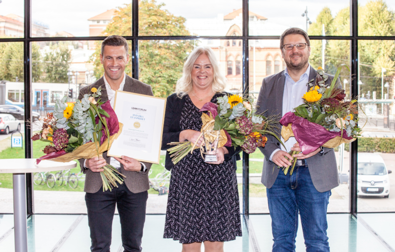 Svenska Leanpriset 2020 går till producent av färdskrivare