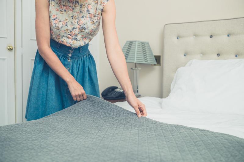 Bädda sängen och få mer gjort
