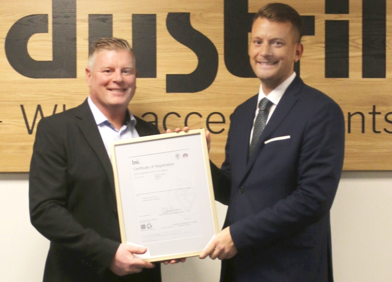 Industrilås vässar kvalitetsprofilen med ny certifiering