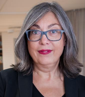 Caroline Olsson, chef avdelningen för arbetsgivarpolitik, SKR. Foto: Hans Alm.