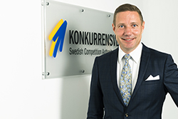 Rikard Jermsten, Generaldriektör Konkurrensverket. Foto Andreas Eklund.