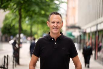 Staffan Ström, pensionsekonom Alecta. Foto: Evelina Carborn.
