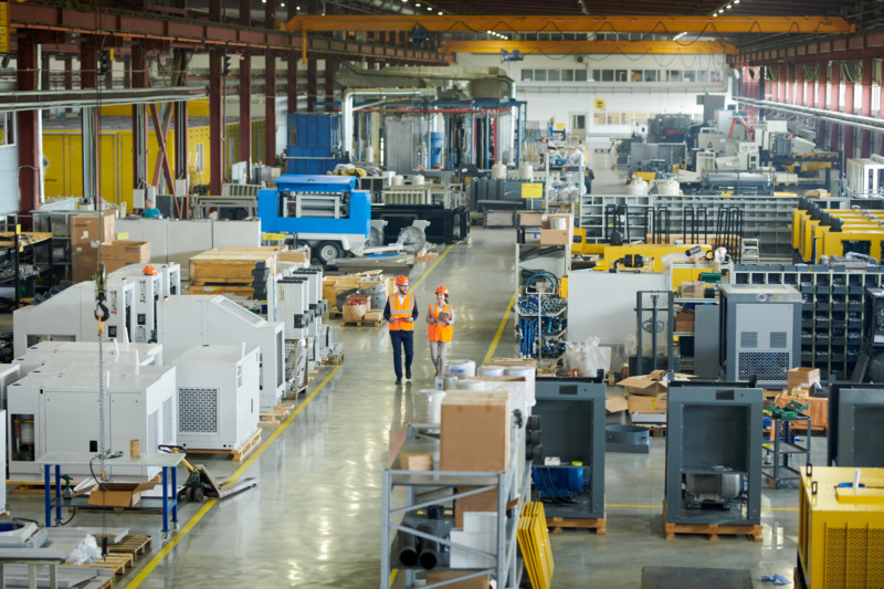 Forskare hjälper företag utforma fabriker