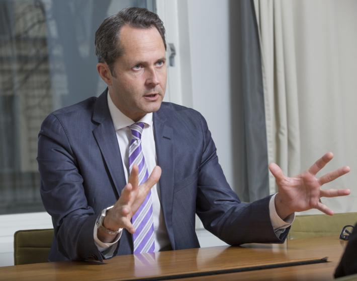 Andreas Åström, näringspolitisk chef Almega. Foto: Johan Jeppsson