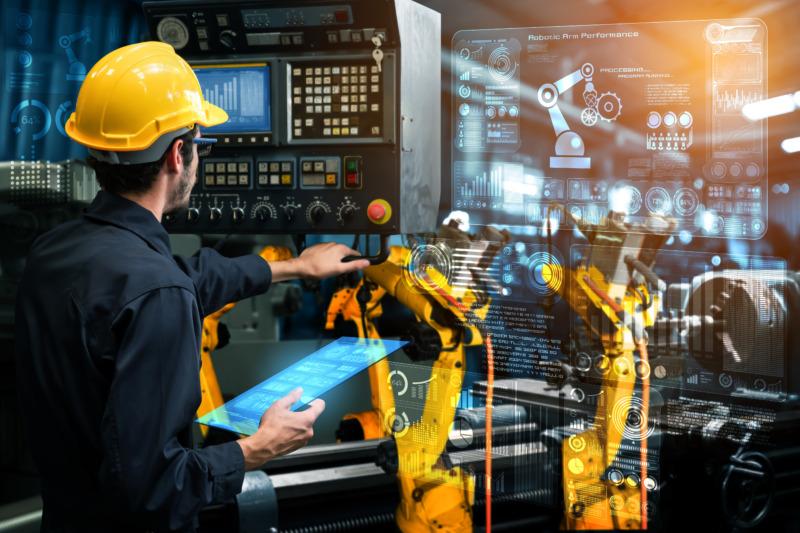 Robotsnickare säkrar kvaliteten på framtidens hus