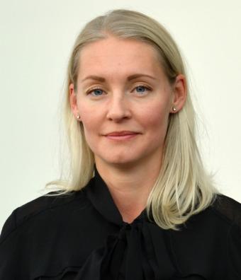 Hanna Irehill, psykolog och forskare, Umeå universitet.