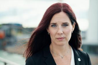 Ulrika Lindstrand, förbundsordförande Sveriges Ingenjörer.