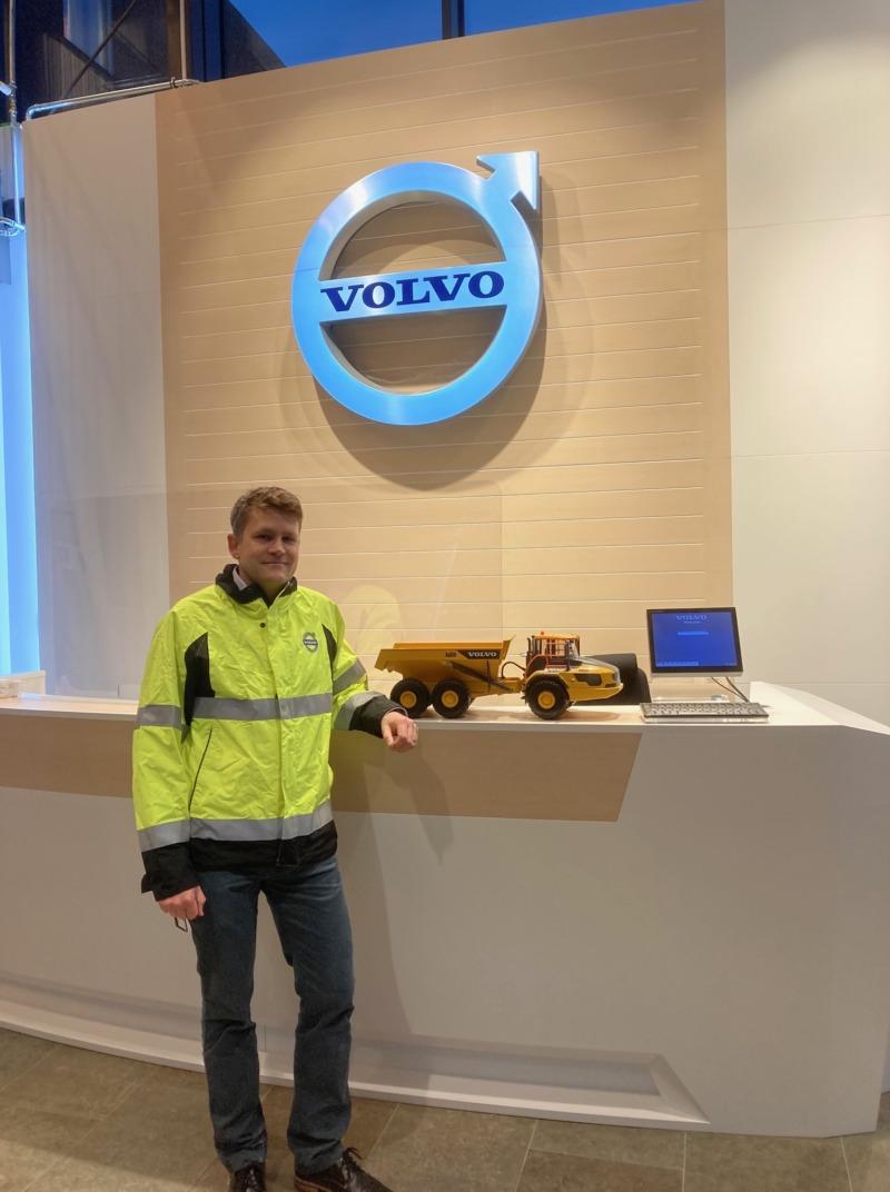 Lean viktigt verktyg i Volvo CE:s hållbarhetsarbete