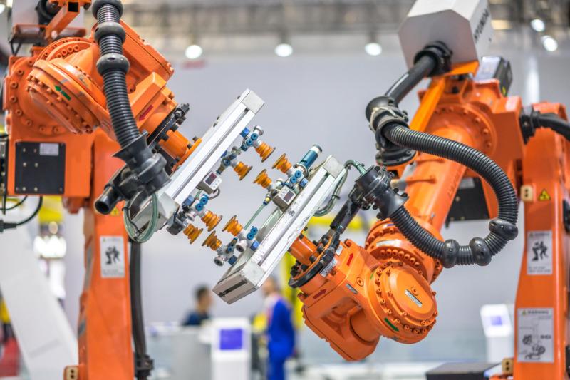 Sverige har näst högst robottäthet i Europa