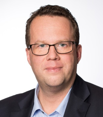 Martin Linder, ordförande Unionen. Foto: Camilla Svensk.