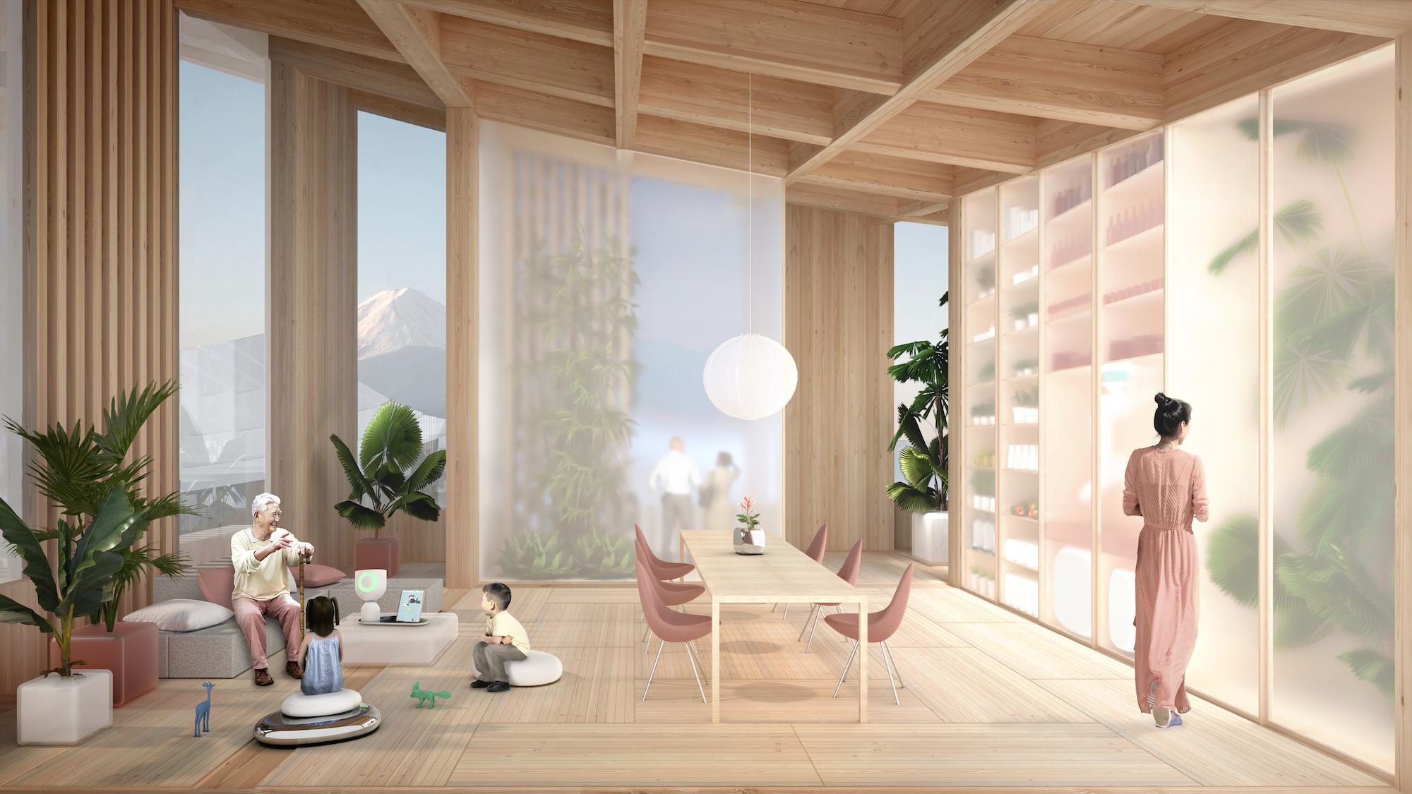 Uppdraget att rita staden med smarta hem har gått till den danska arkitekten Bjarke Igels. Bild Toyota.