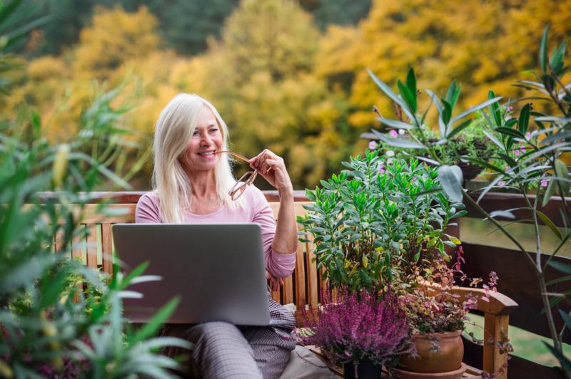 Många fördelar med att jobba utomhus