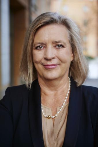 Helena Lindberg, riksrevisor. Foto Frida Ström.