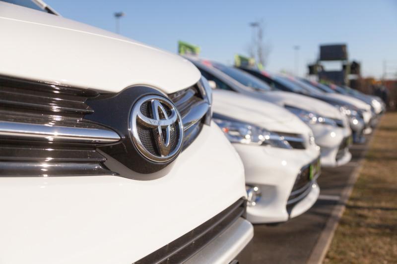 Toyota i topp på varumärkeslista